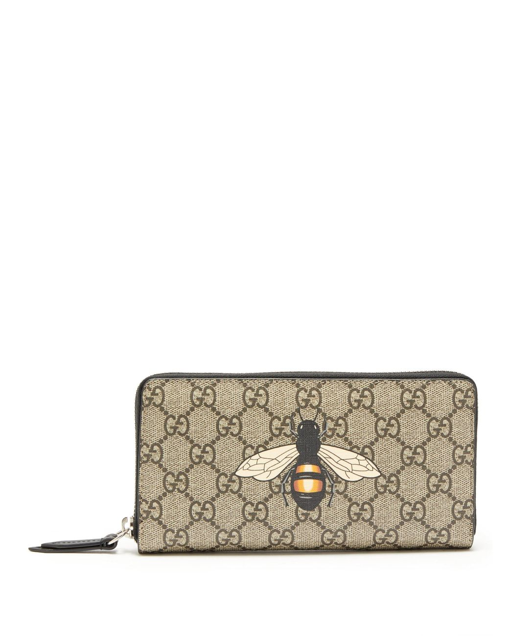 921e8e09daf Gucci Gg Supreme Bee Print Wallet in Brown for Men - Lyst