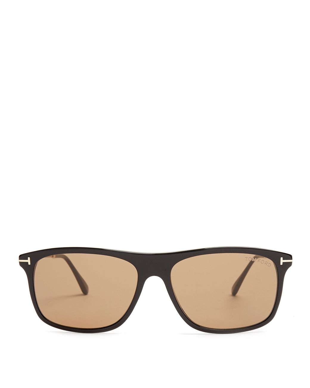 2f6866caf5df Long-Touch to Zoom. Long-Touch to Zoom. 1  2  3  4  5. Tom Ford - Brown  Eric Rectangle Frame Sunglasses for Men ...