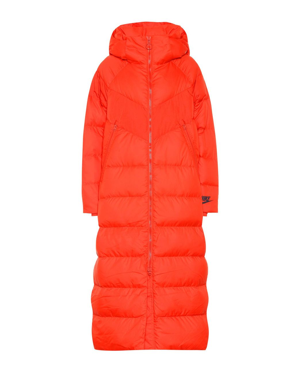 f74fa9ff56fd Nike Down-filled Puffer Coat in Red - Lyst