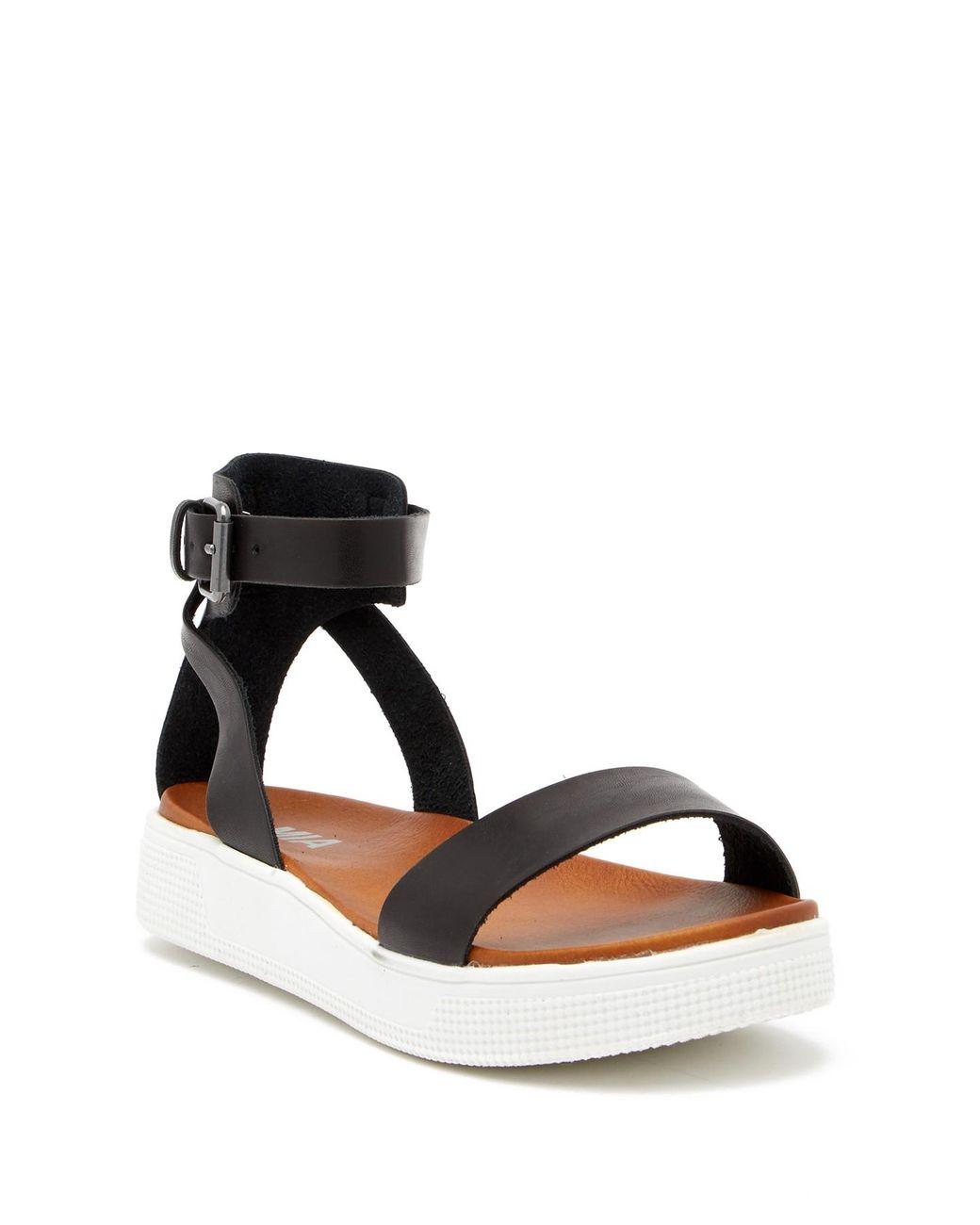 4dc49b8fc79 Lyst - MIA Platform Sandal (women) in Black - Save 43%