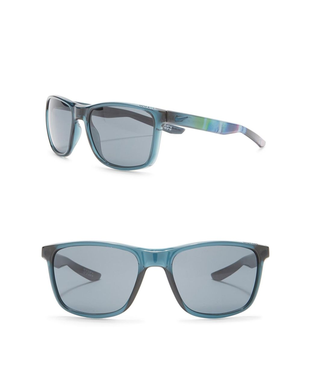 03a8a1911a Lyst - Nike Unrest 57mm Square Sunglasses in Blue for Men