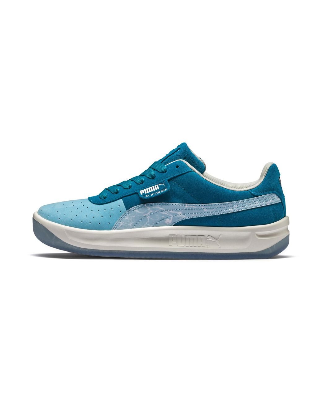 7dadc8eee1 Lyst - PUMA California Pool Sneakers in Blue for Men