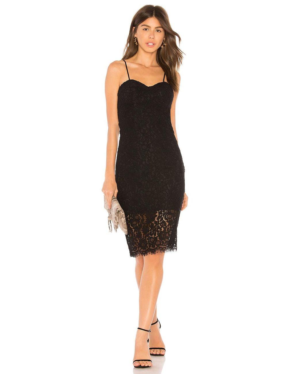 a0b26a97 Bardot Pierre Lace Dress in Black - Lyst