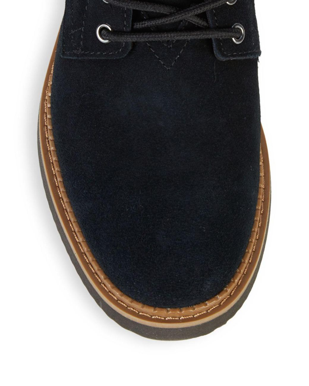 576b2c399d9 Lyst - TOMS Porter Suede Boots in Black for Men - Save 59%