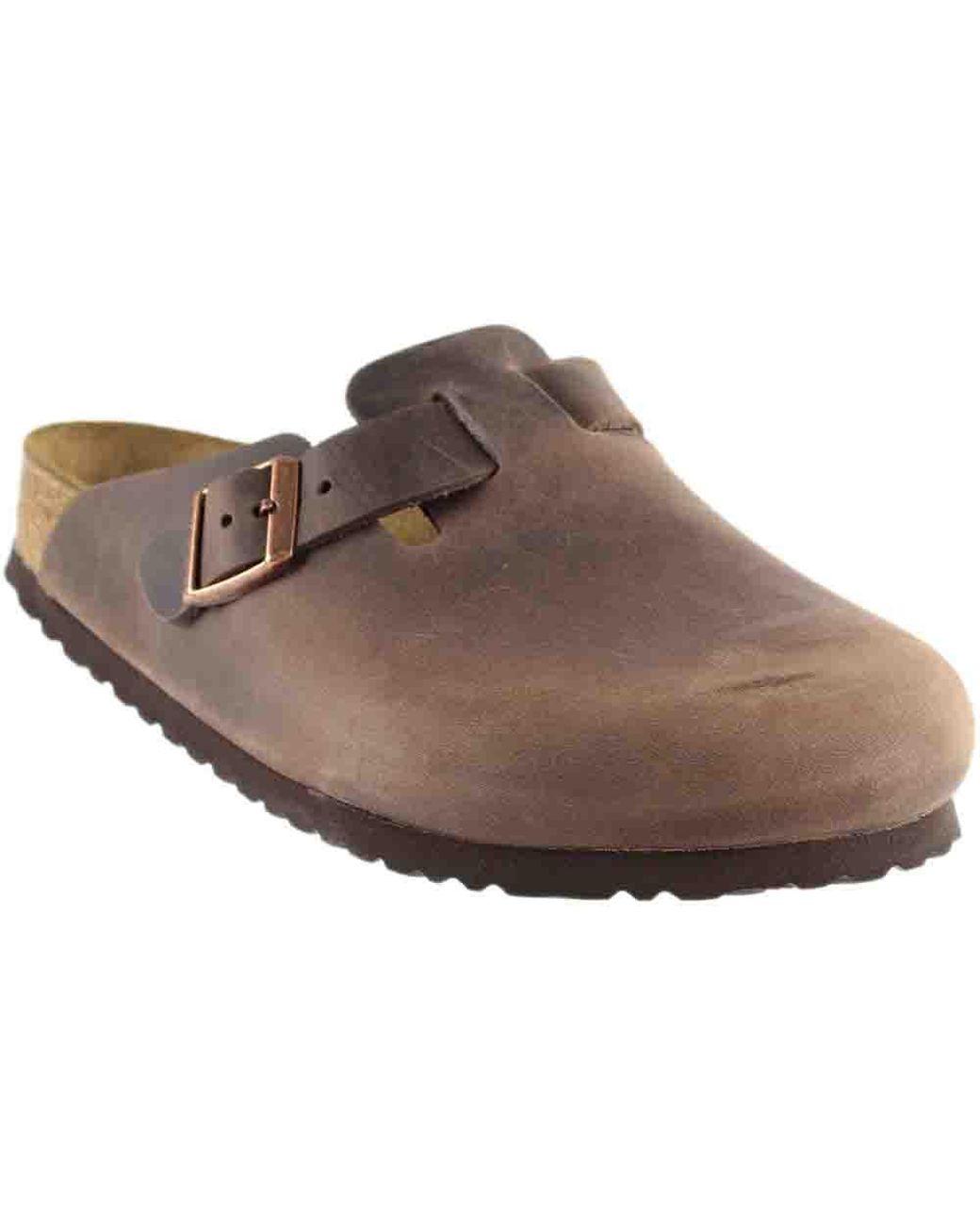 e76747e8ab Women's Brown Boston Clog Soft