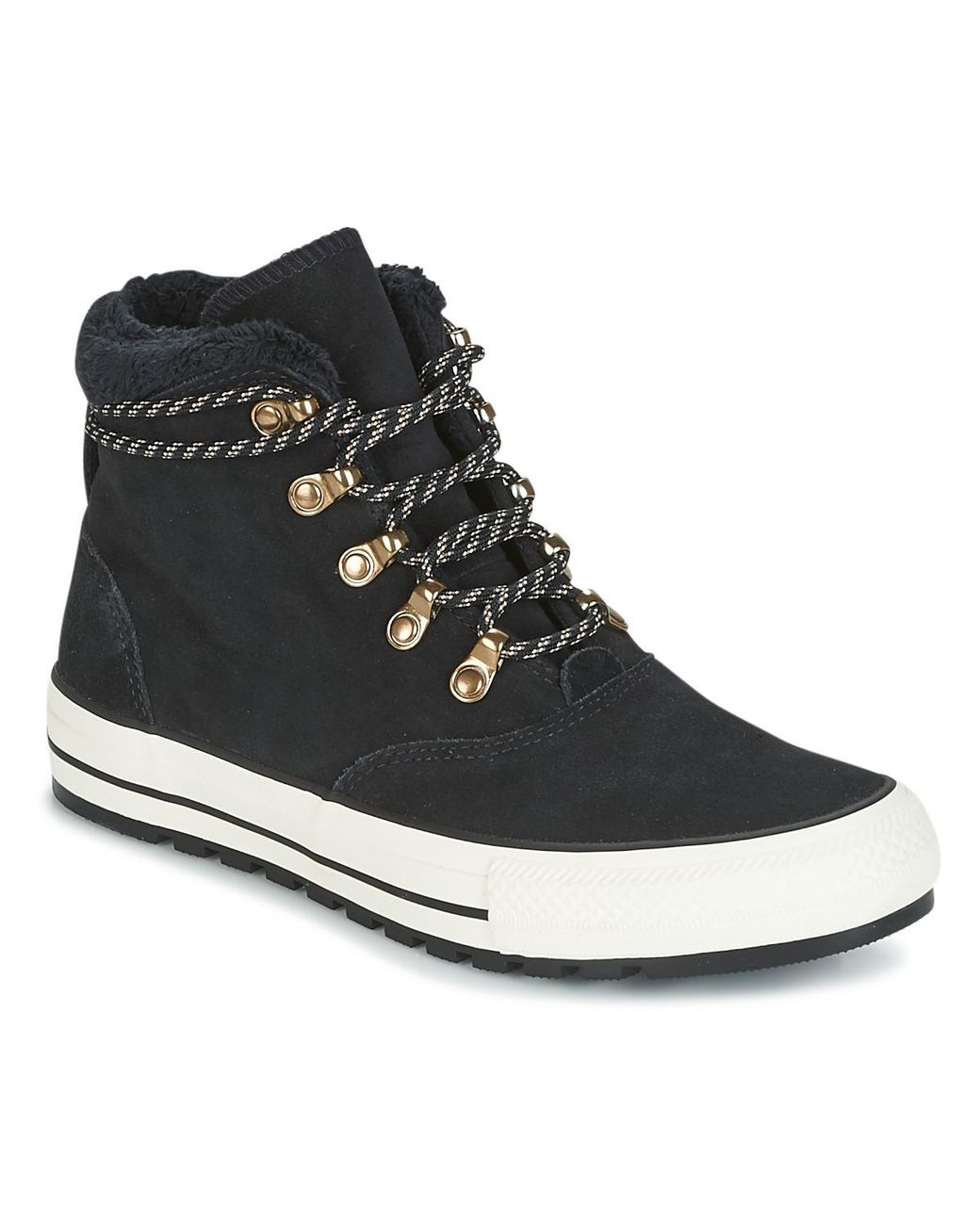 a20510d9e4f8 Converse Chuck Taylor All Star Ember Boot Shoes (high-top Trainers) in  Black - Lyst