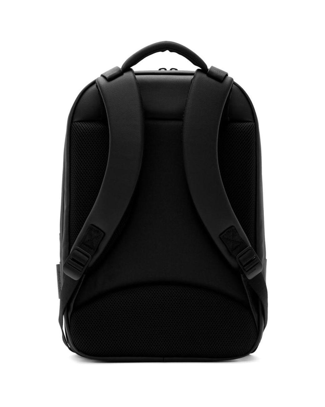 053e8a949 Côte&Ciel Black Coated Canvas Sormonne Backpack in Black for Men - Lyst