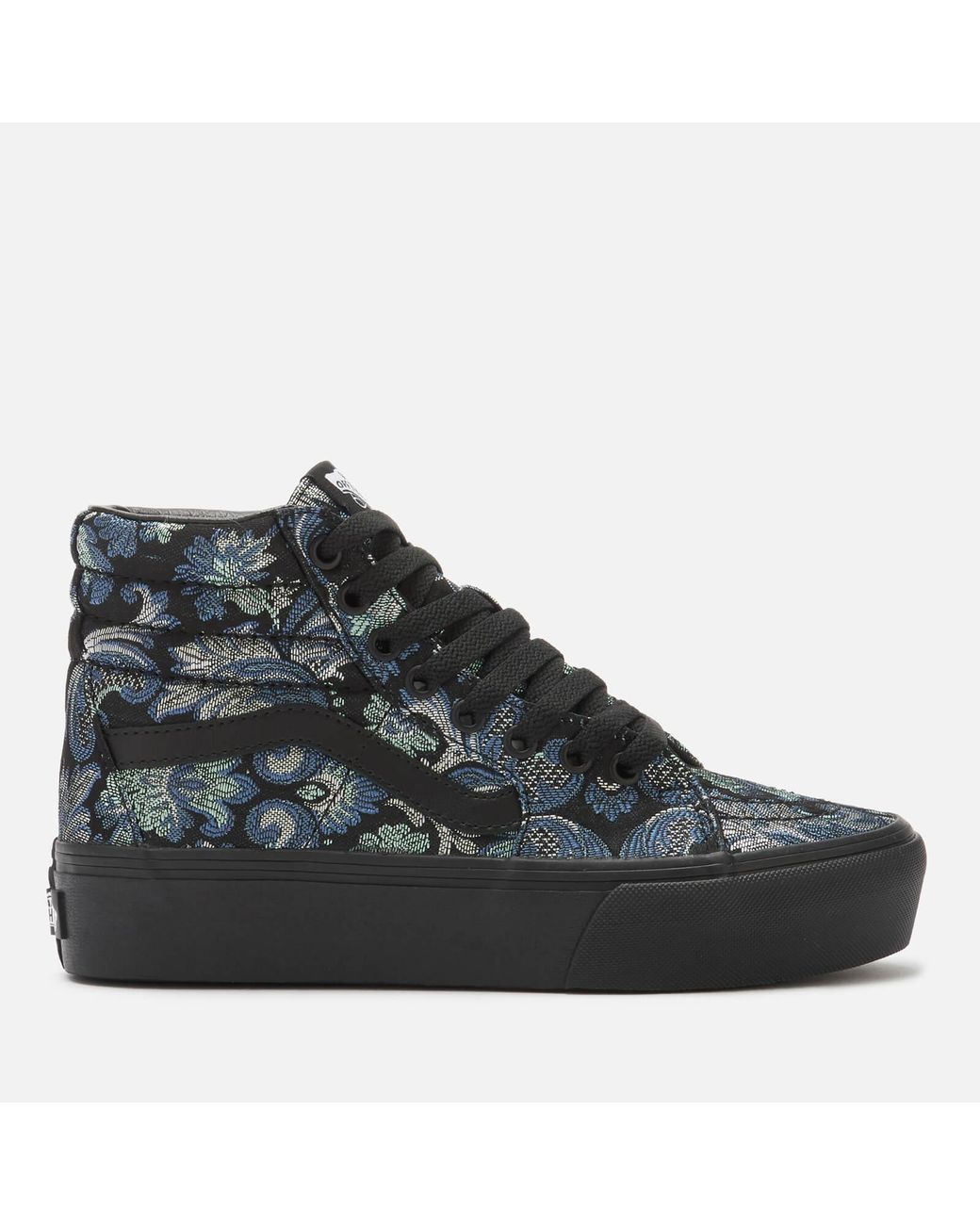 399e59ffbf Long-Touch to Zoom. Long-Touch to Zoom. 1  2  3  4. Vans - Black Daring  Damsels Platform 2.0 Sk8-hi ...