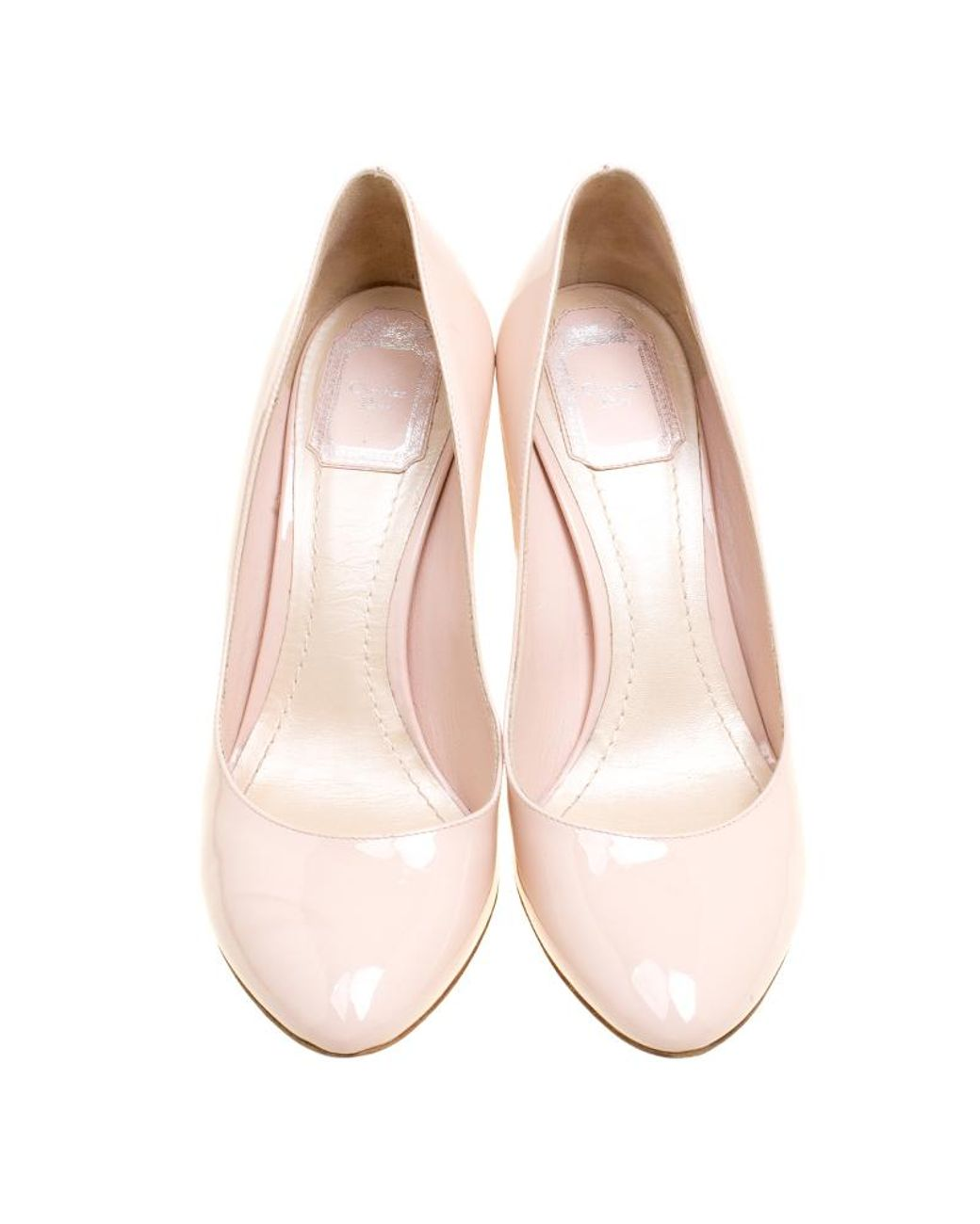 7c24d93a415 Dior Patent Leather Heels in Pink - Save 2% - Lyst