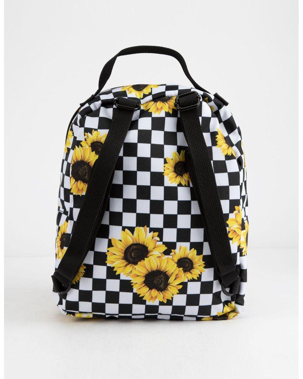 701f2a6ebb5 Vans Sunflower Check Mini Backpack - Lyst