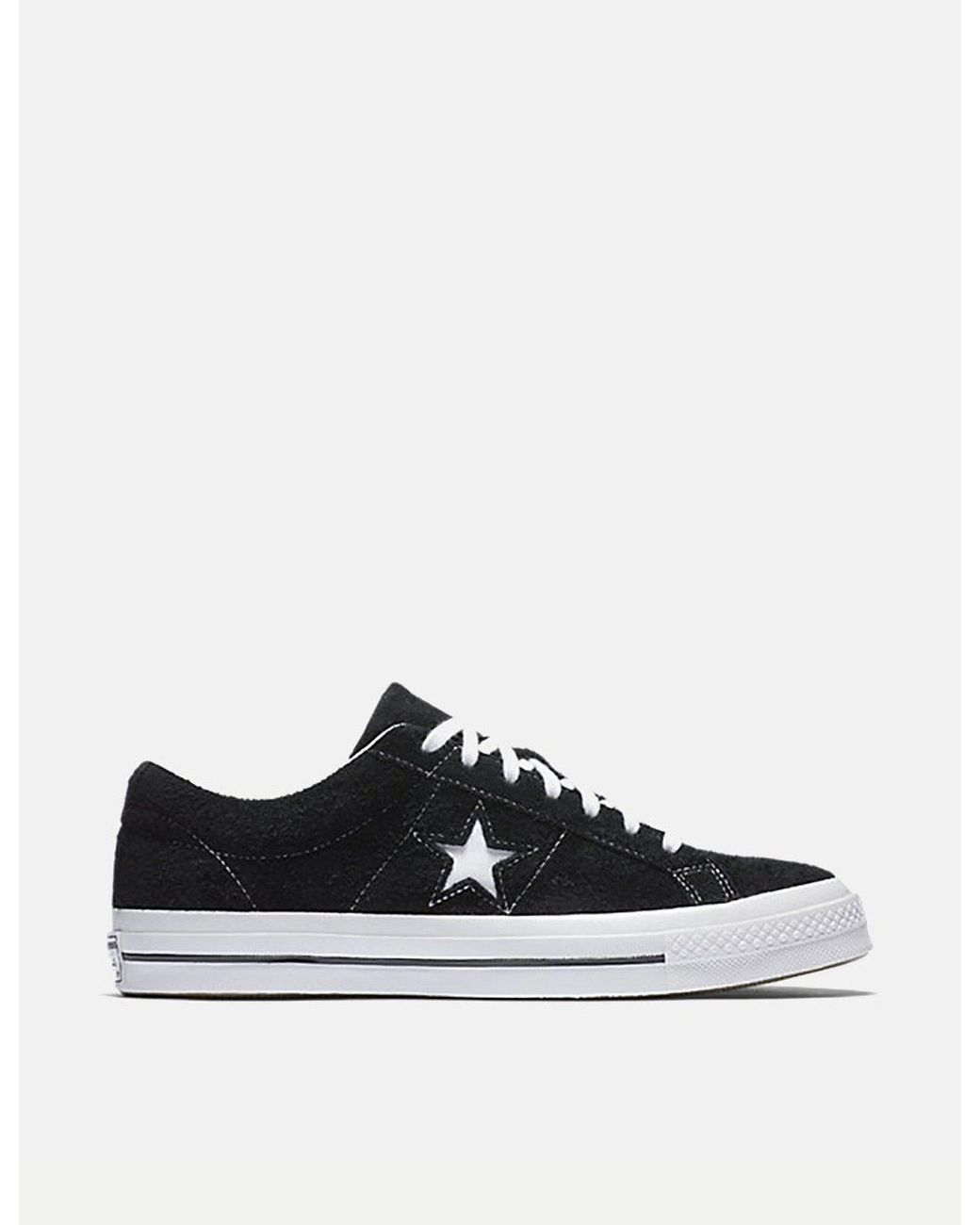 a51c34442c40 Lyst - Converse One Star 74 in Black for Men - Save 49%