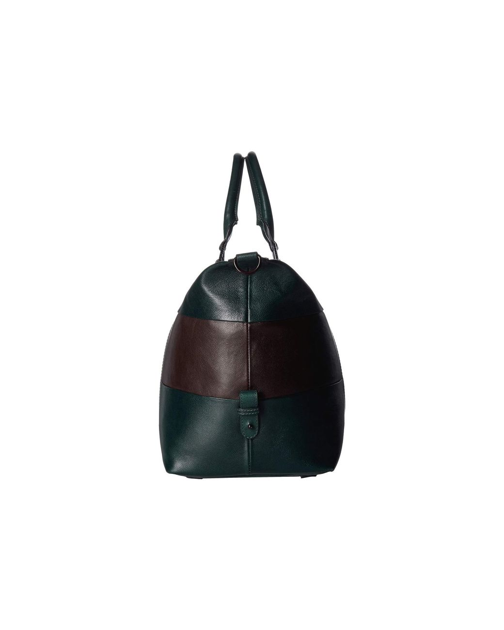 c3c983085c7 Ted Baker Elton Striped Leather Holdall (dark Green) Duffel Bags in Green  for Men - Lyst