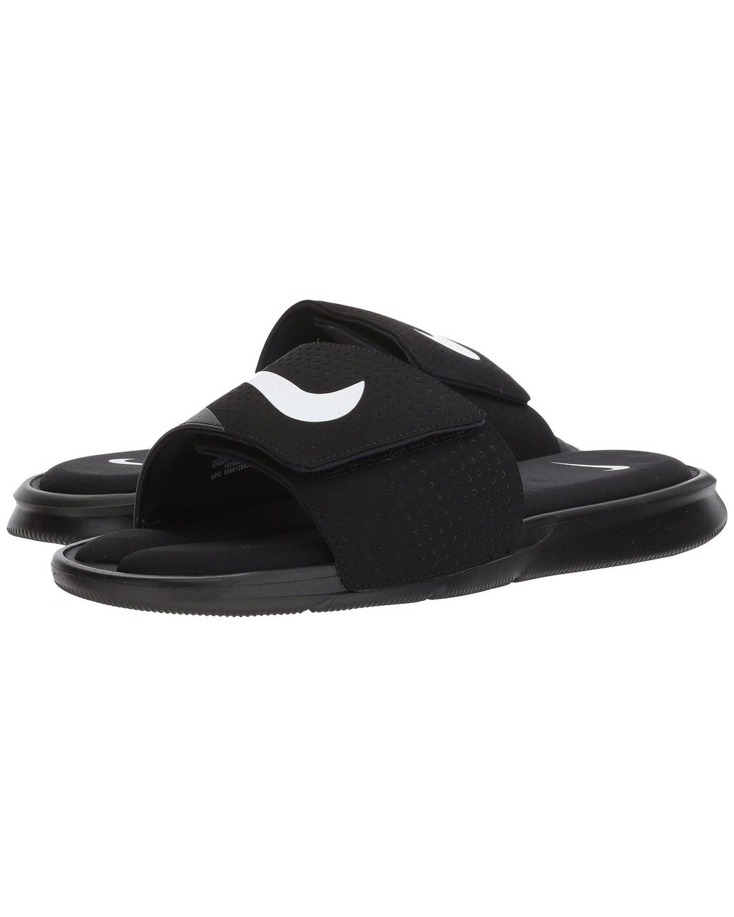 ab34f2f23 Lyst - Nike Ultra Comfort Slide (black white black) Men s Sandals in Black  for Men - Save 25%