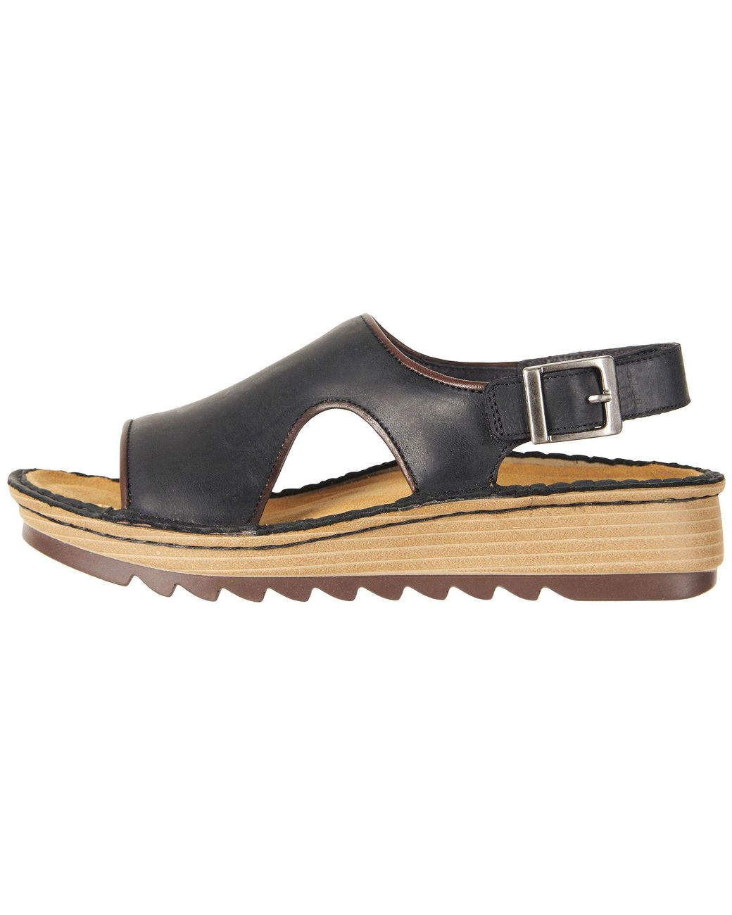 a5beb2f981fa Lyst - Naot Ficus (oily Coal Nubuck toffee Brown Leather) Women s Shoes