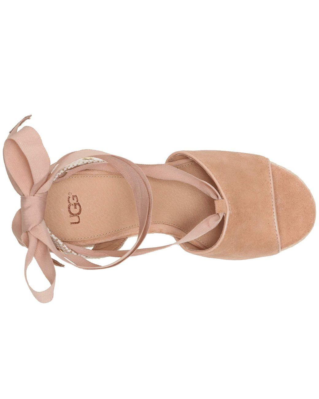 d7c2c1773ba Lyst - UGG Shiloh (desert Blue) Women s Sandals