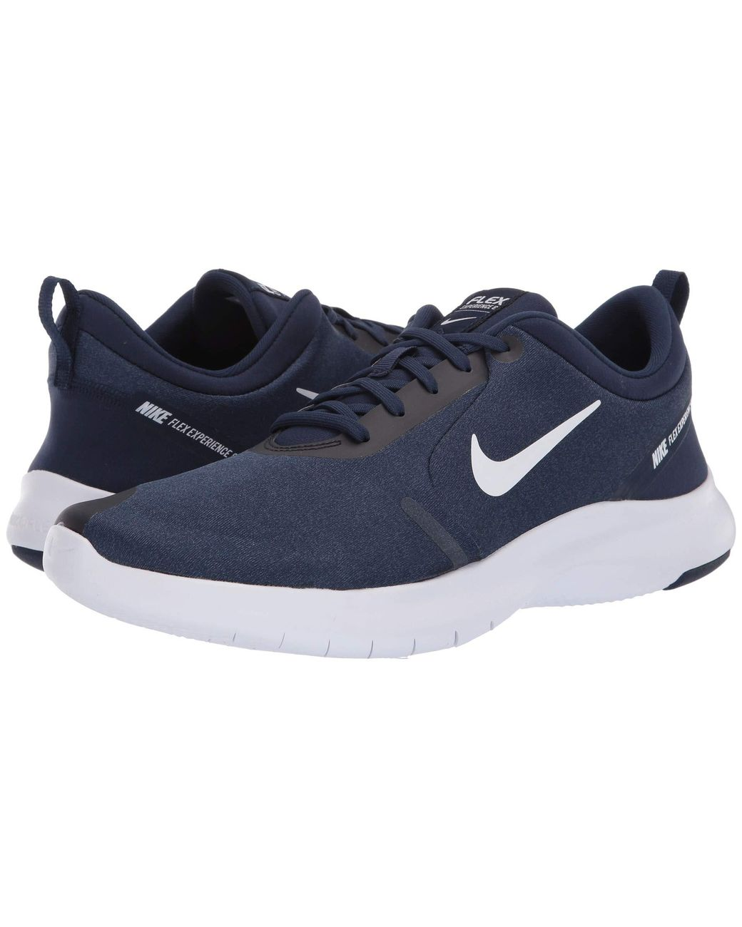 51c1401a1a252 Lyst - Nike Flex Experience Rn 8 (midnight Navy white monsoon Blue) Men s  Running Shoes in Blue for Men - Save 2%