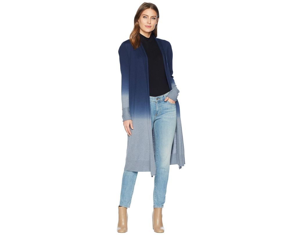 d02ad211573 Lyst - NIC+ZOE Traveler Ombre Duster in Blue