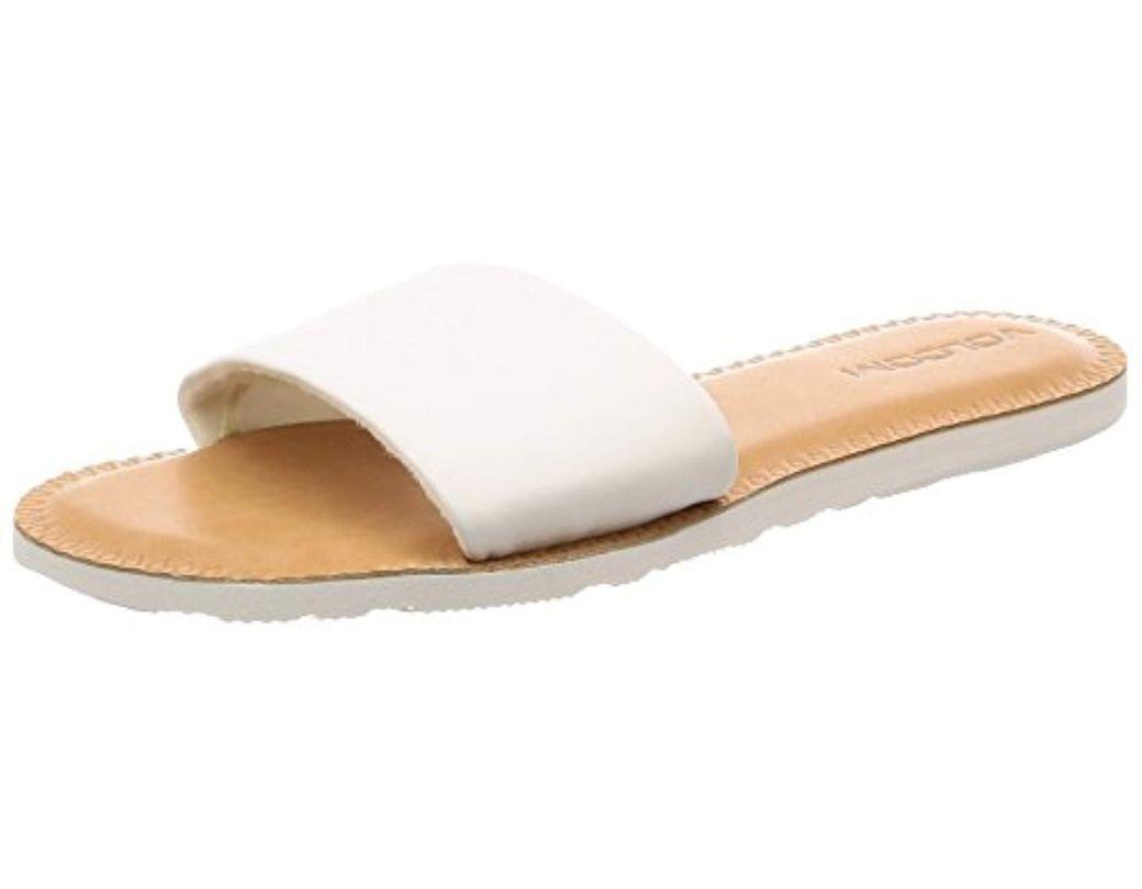 f502b6563 Lyst - Volcom Simple Slide Sandals (black Combo) Women s Sandals in ...