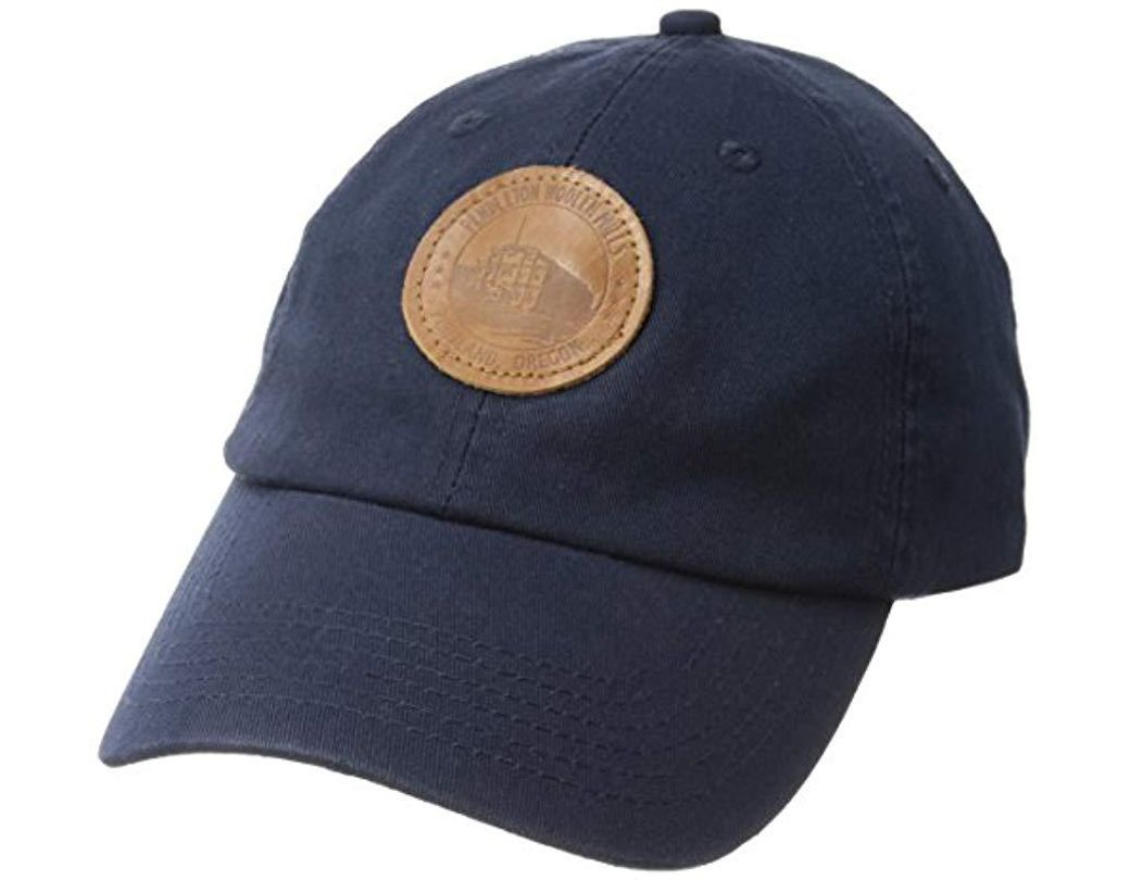 1b032d46c Lyst - Pendleton Unisex Cotton Hat With Mill Patch in Blue for Men ...