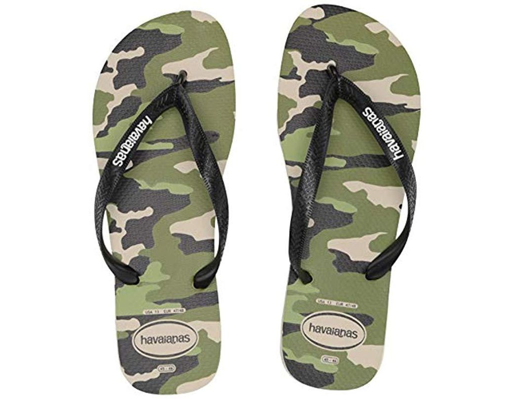 4f03b7fd0 Lyst - Havaianas Top Camo Sandal (beige black) Men s Sandals for Men