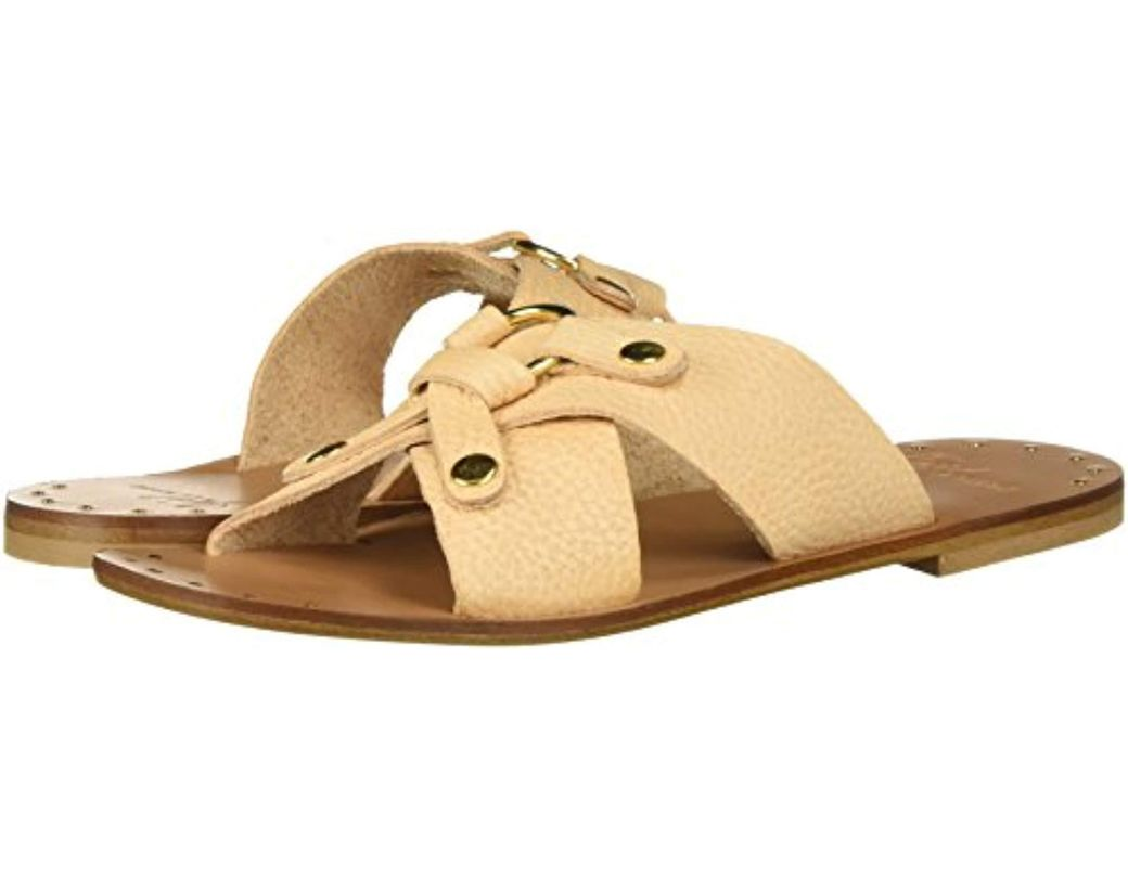 90fcaea371f50 Lyst - Joie Basma Flat Sandal in Natural - Save 50%
