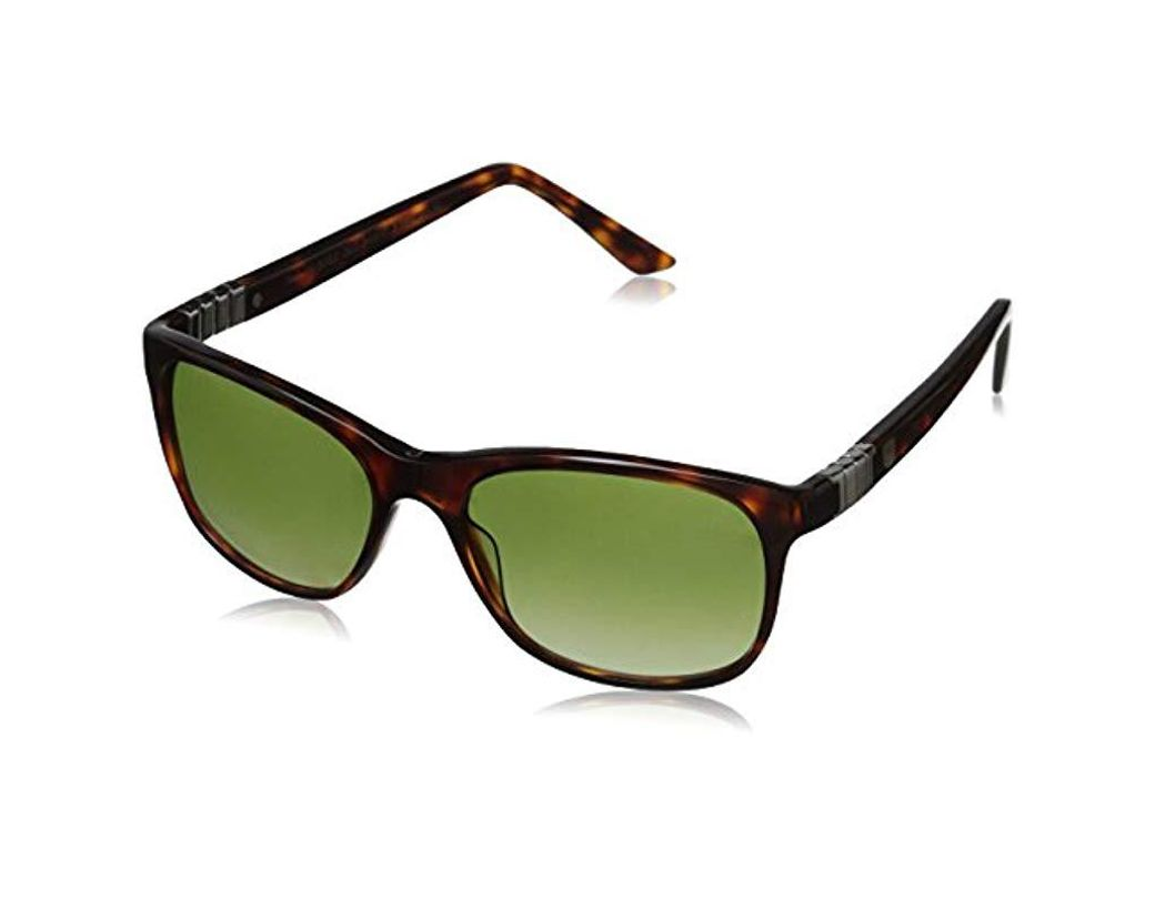aee398ed2 Lyst - Tag Heuer Legend 9382 Square Sunglasses in Green for Men