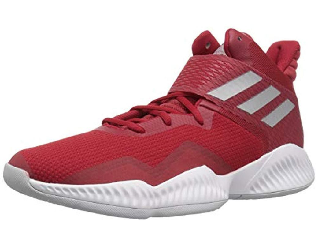a3caf3a24 Lyst - adidas Explosive Bounce 2018 Basketball Shoe in Red for Men
