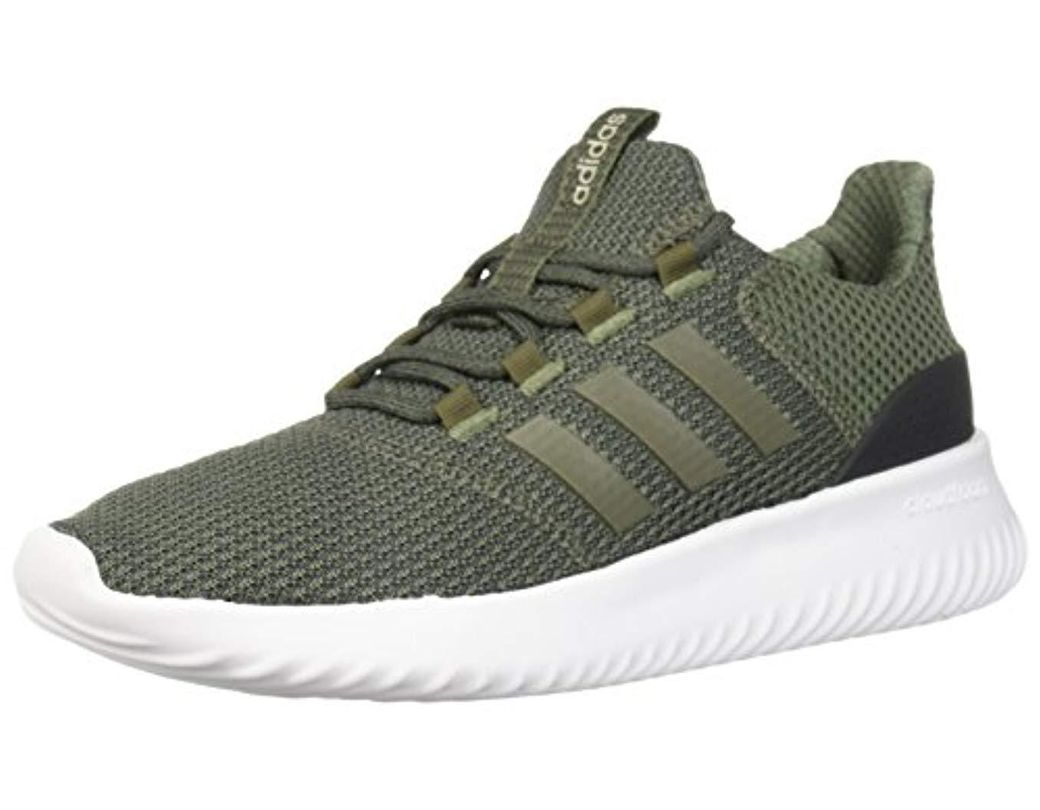 487847e48 adidas. Men s Green Cloudfoam Ultimate Running Shoe.  85 From Amazon Prime