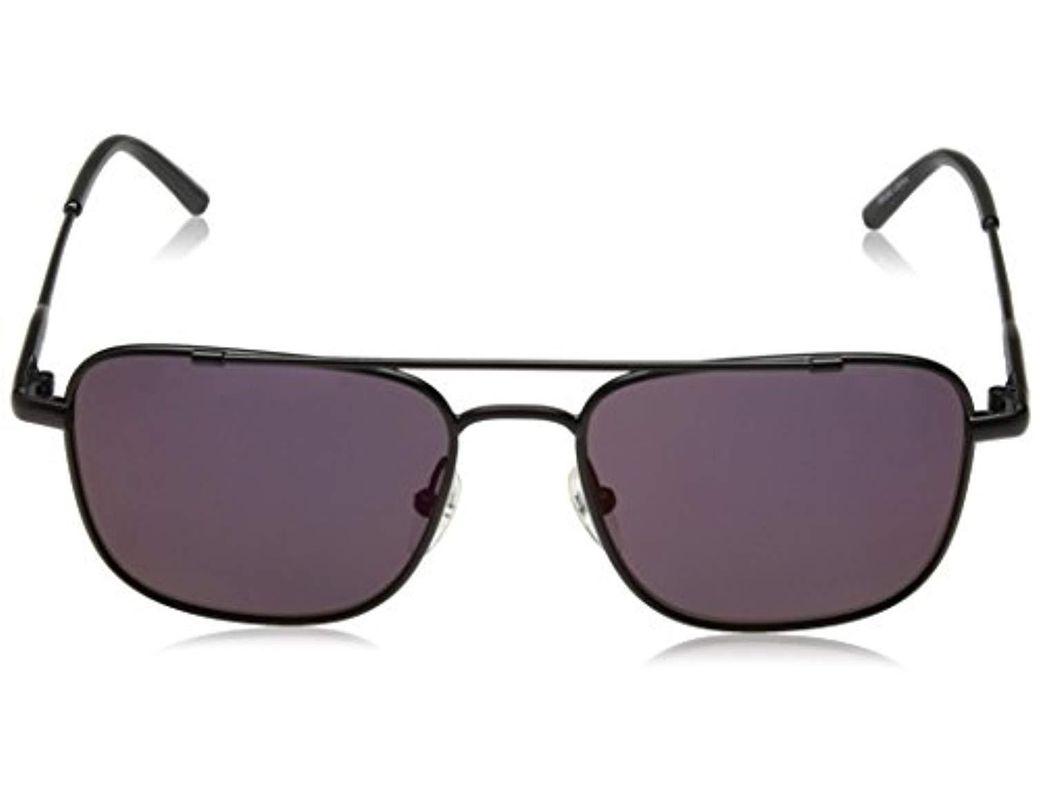 14052ce1904d Calvin Klein Unisex Ck2150s Navigator Sunglasses Aviator, Matte Black, 53  Mm in Black for Men - Save 4% - Lyst