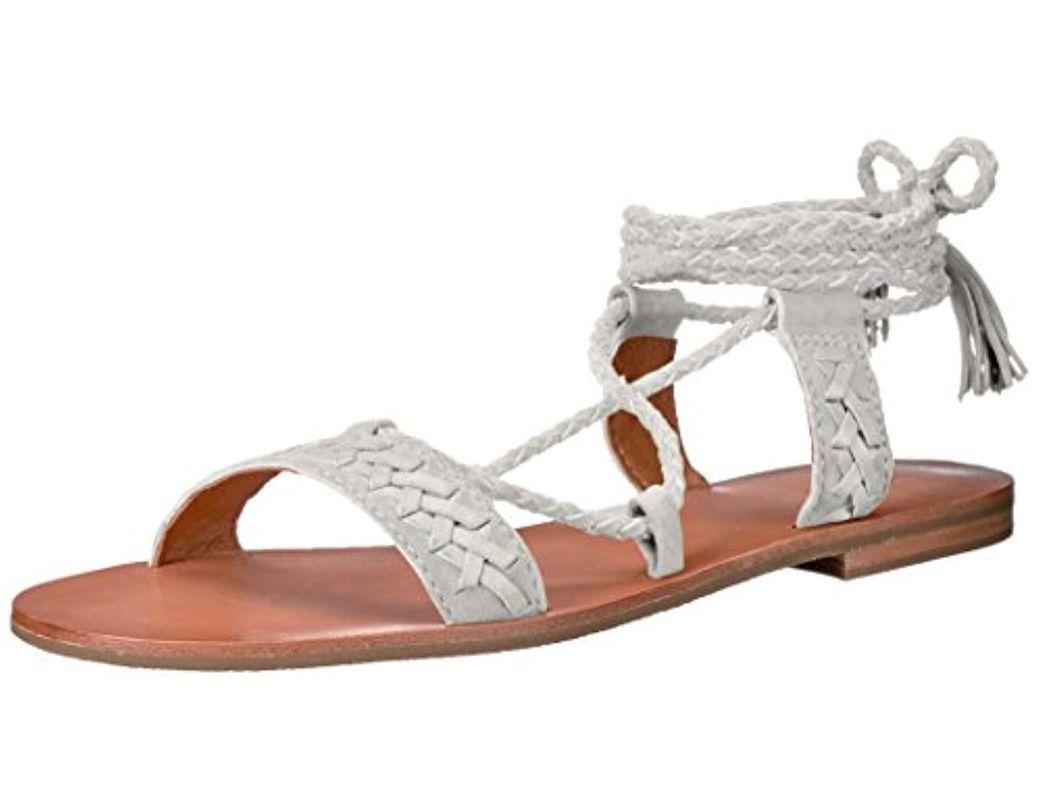 Flat Frye Ruth Whipstitch Women's Sandal PwkOn0N8X
