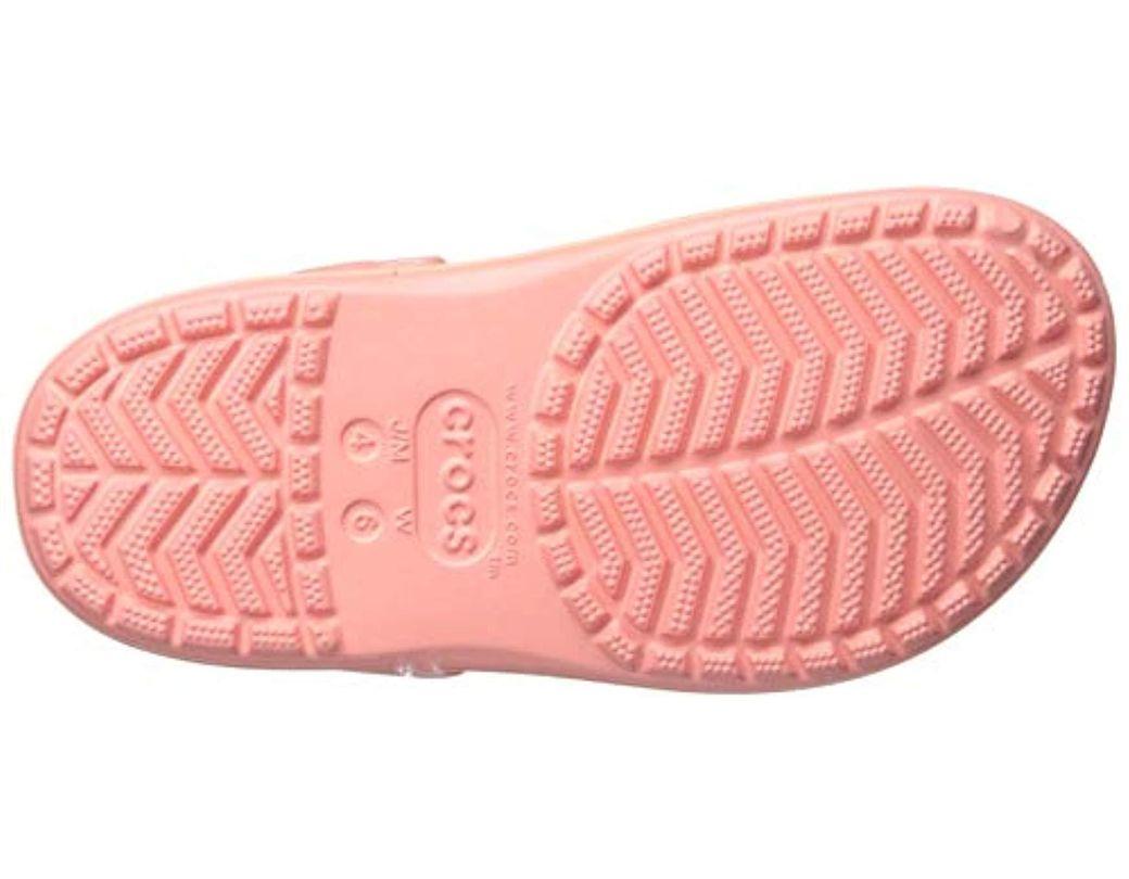7158c5814f Crocs™ Crocband Platform Vivid Blooms Clog in Pink - Lyst