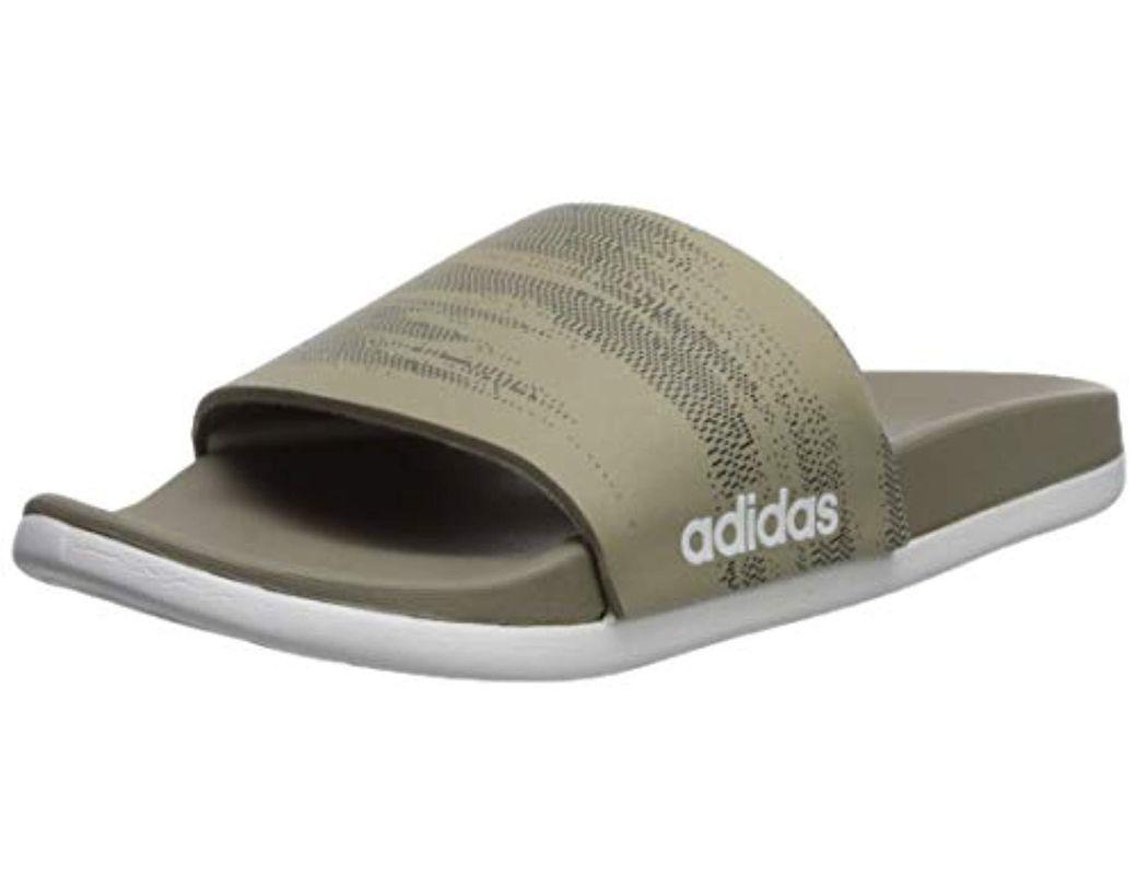 5c508ca64500a Lyst - adidas Performance Adilette Cf+ Link Gr Slide Sandal, Trace ...  adidas