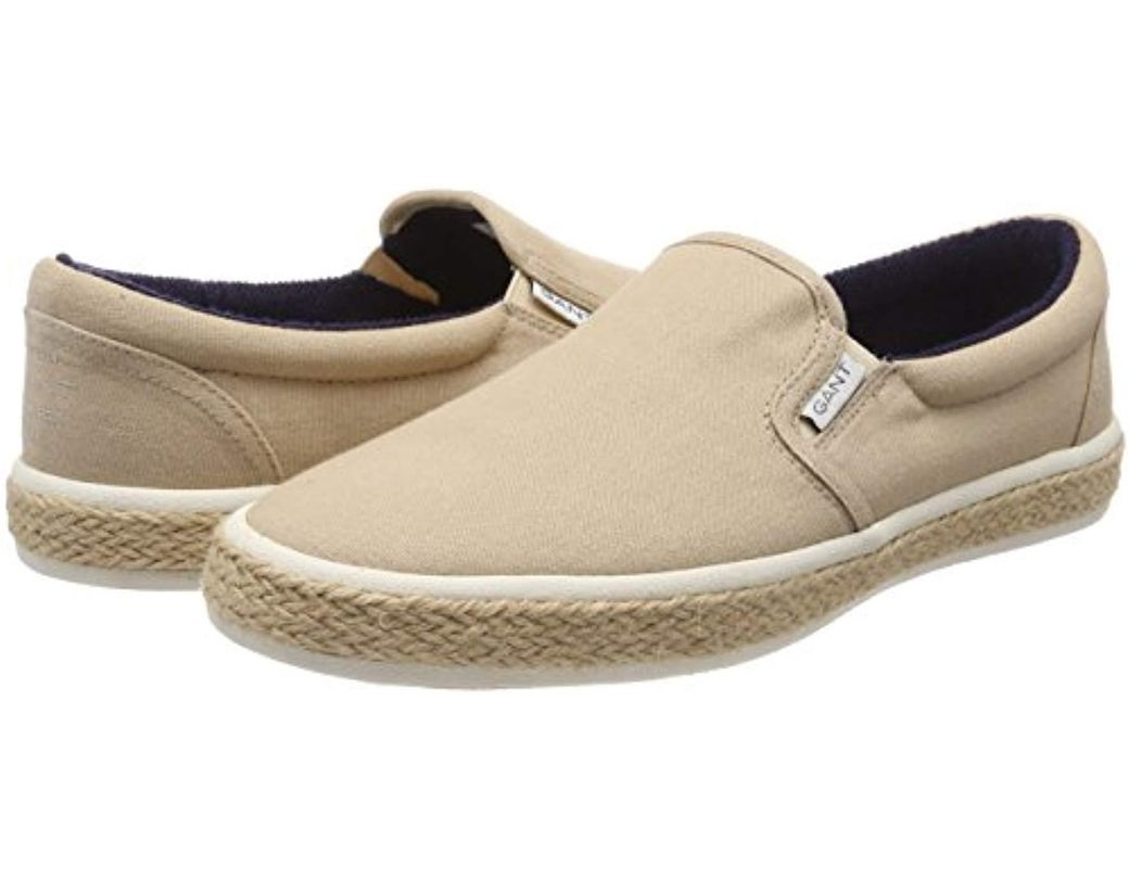5f11202b4e GANT Master Loafers in Natural for Men - Lyst