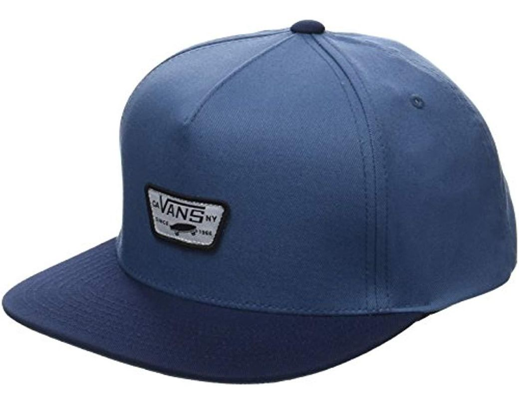 99e5a036 Vans Mini Full Patch Ii Snapback Baseball Cap in Blue for Men - Lyst