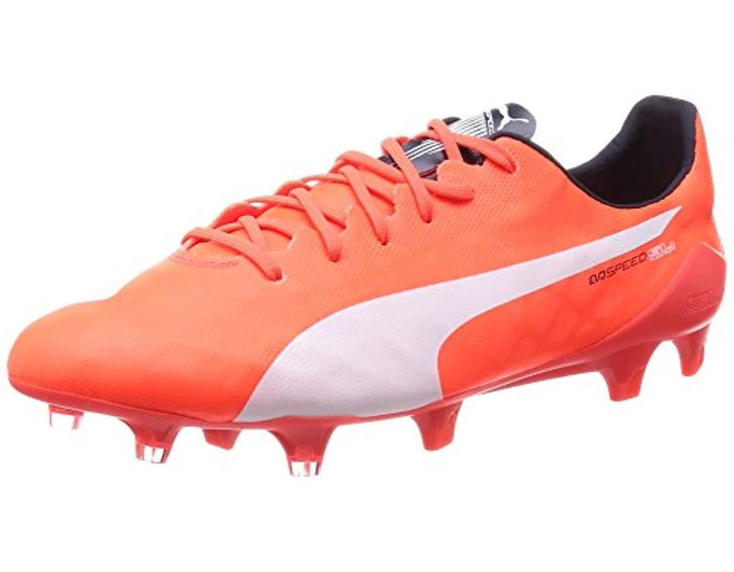 737f061dc PUMA Evospeed Sl Fg Football Boots (training) in Orange for Men - Lyst