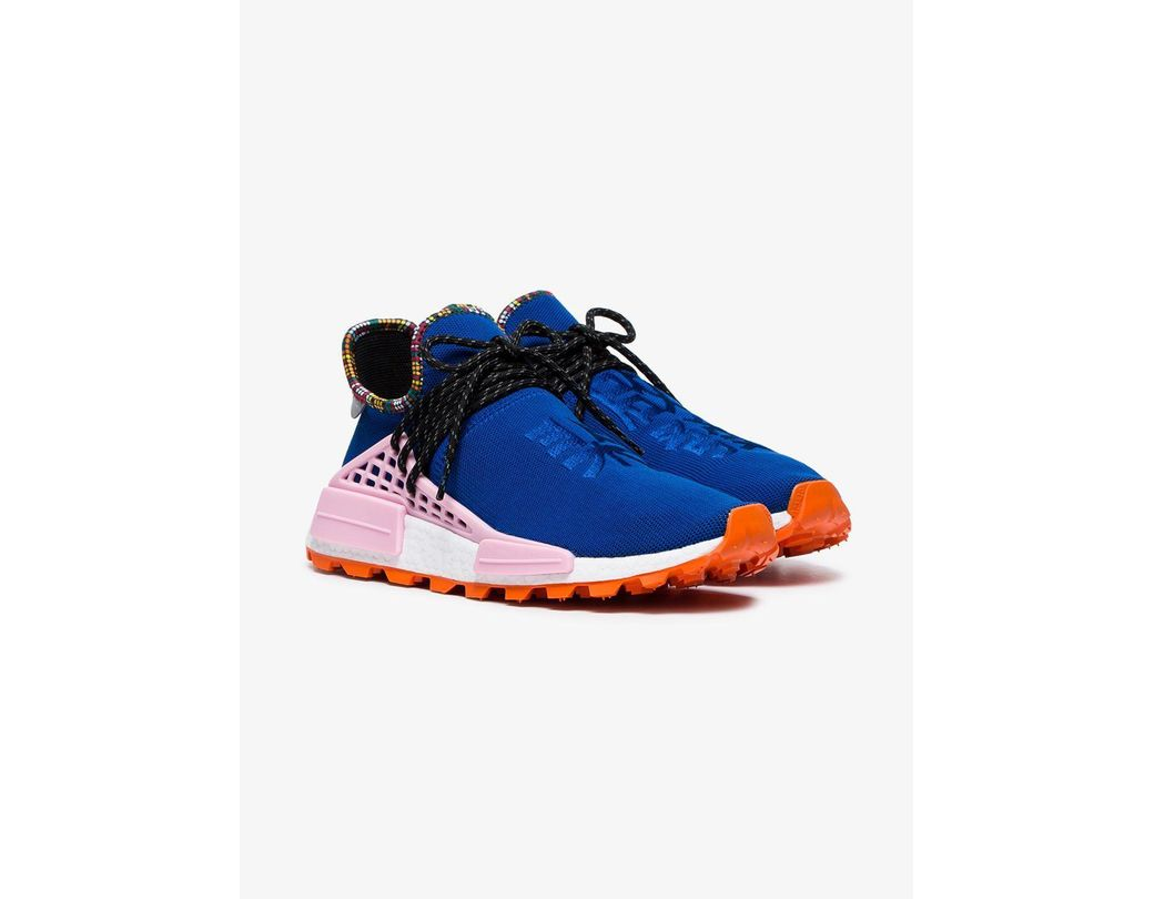 5bdebb523 Lyst - adidas X Pharrell Williams Blue Human Body Nmd Sneakers in ...
