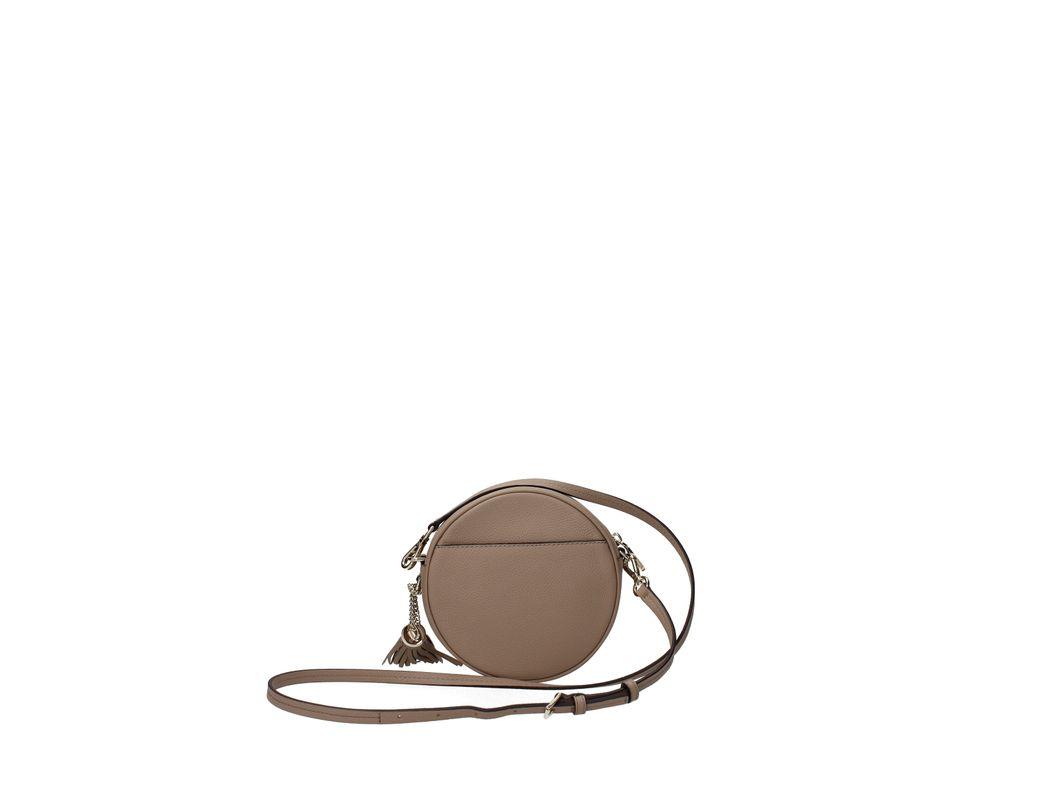 277d46bb723b Lyst - Michael Kors Crossbody Bag Canteen Bag Md Women Beige