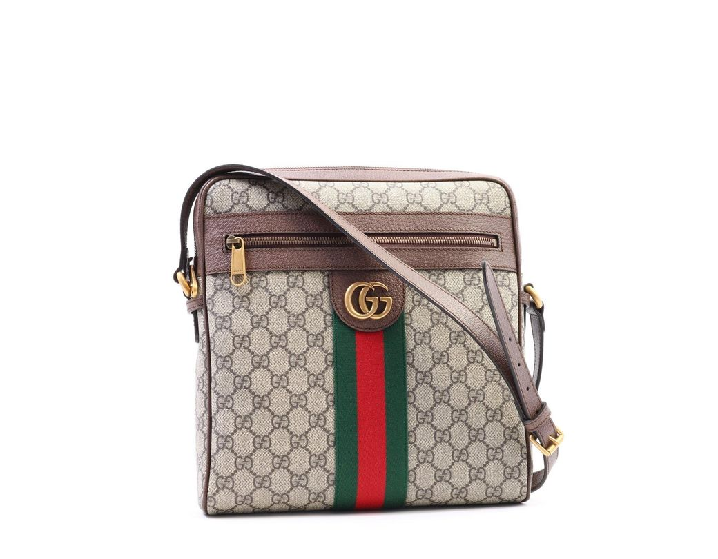 d68f312e15a Lyst - Gucci GG Ophidia Messenger Bag for Men - Save 42%