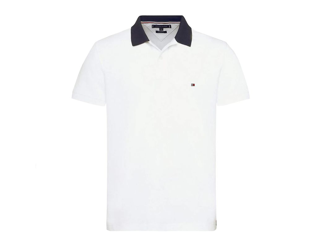 7e0ba5ac Lyst - Tommy Hilfiger Pure Cotton 1985 Polo Shirt in White for Men