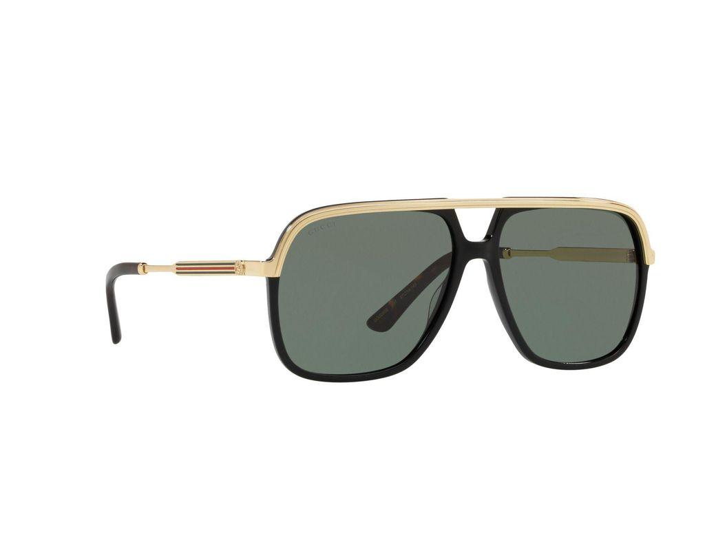 19232da07a3 Gucci Black Gg0200s Square Sunglasses in Black - Lyst