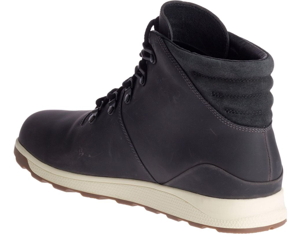 82d035dc631 Chaco Black Frontier Waterproof Casual Boots for men