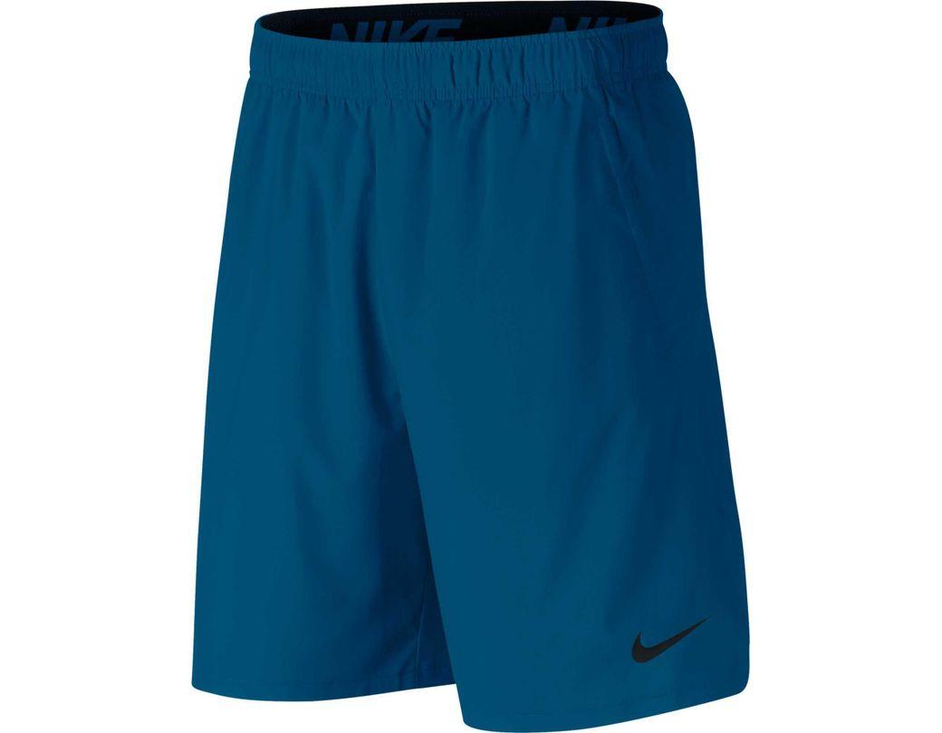 470fb836e0c3 Lyst - Nike 8   Flex Woven Training Shorts 2.0 in Blue for Men