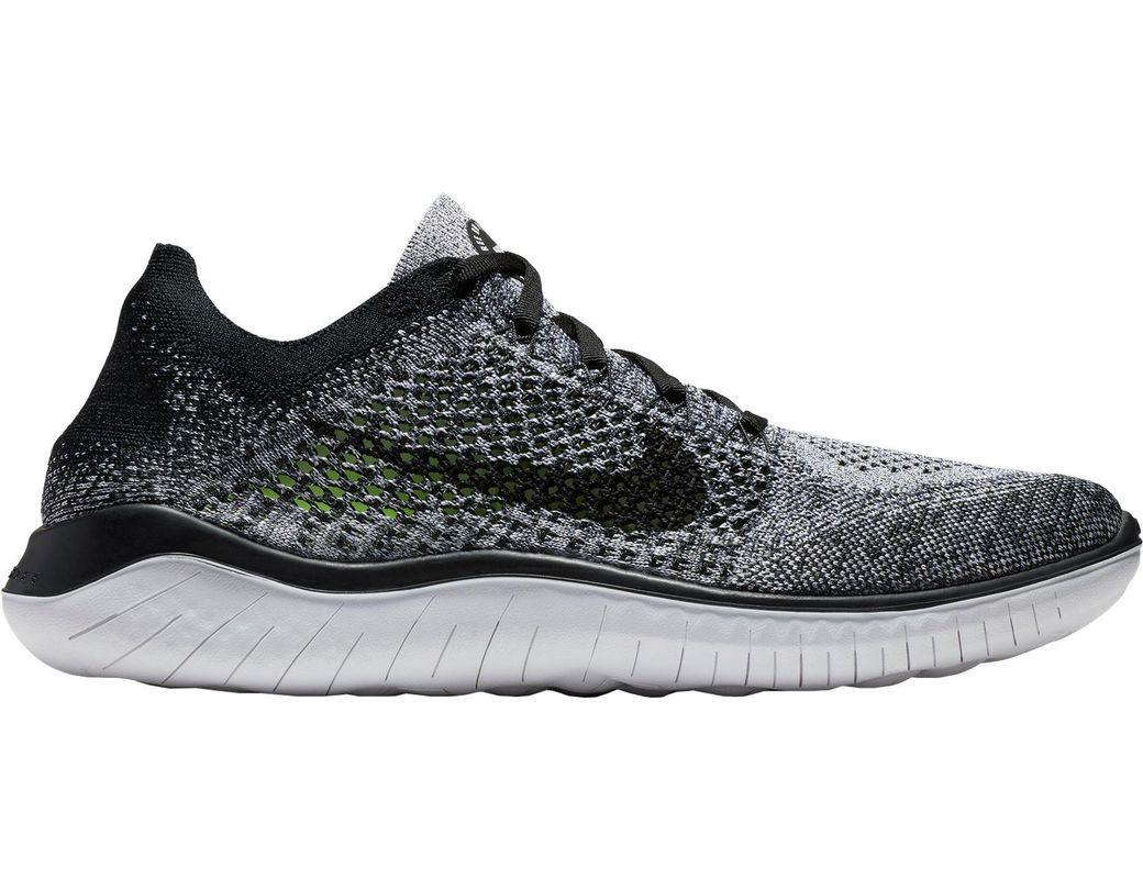 3ebaf8fab0c78 Lyst - Nike Free Rn Flyknit 2018 Running Shoes in Black for Men