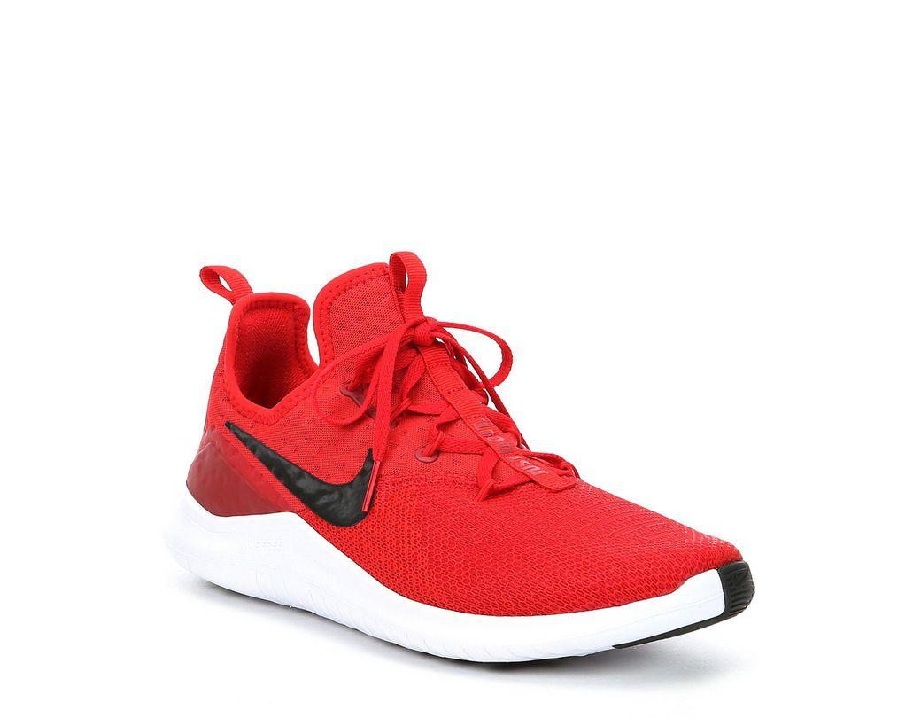 63679fe76fd5e Lyst - Nike Men s Free Tr 8 Training Shoe in Red for Men