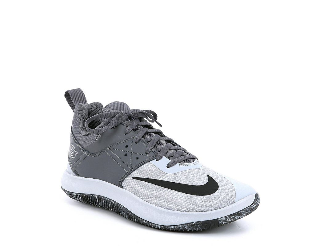 f258461f33cc9 Lyst - Nike Men s Fly By Low Ii Basketball Shoe in Gray for Men