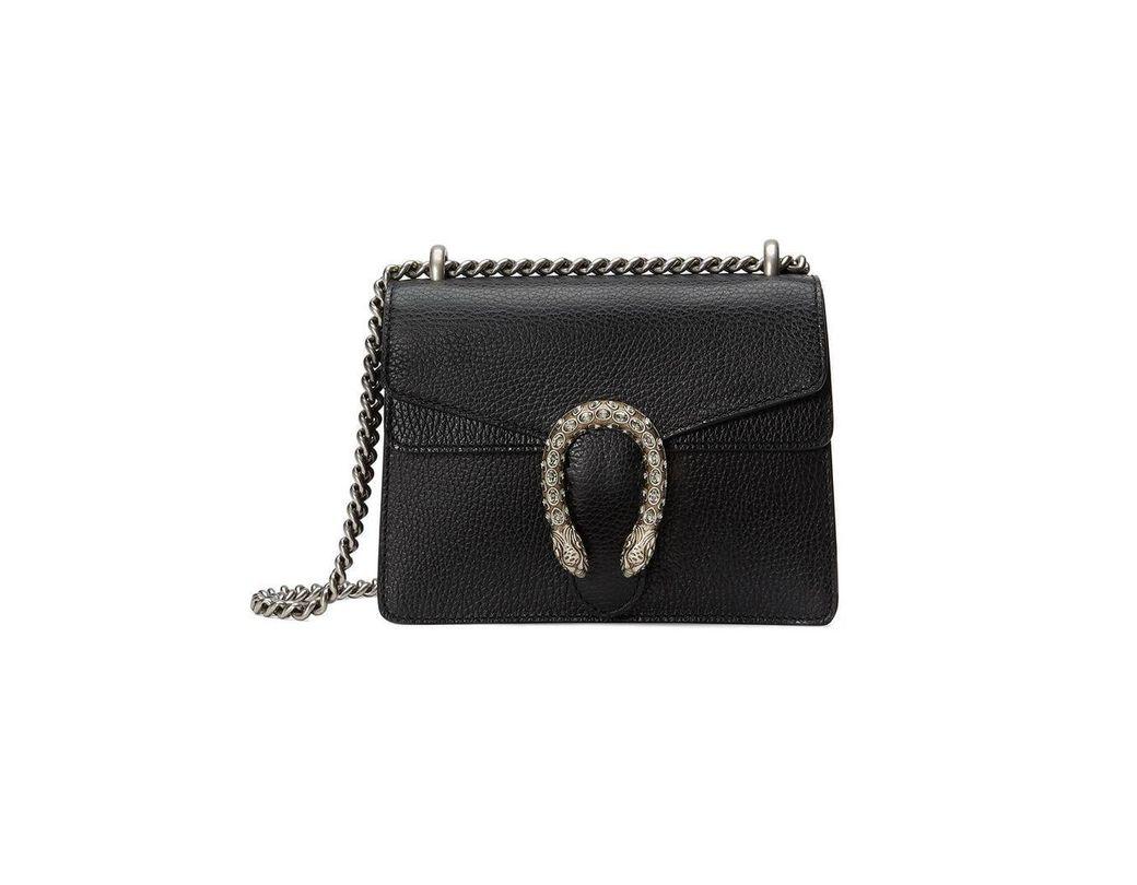ae5b06a000e Lyst - Gucci Dionysus Mini Crossbody Bag in Black