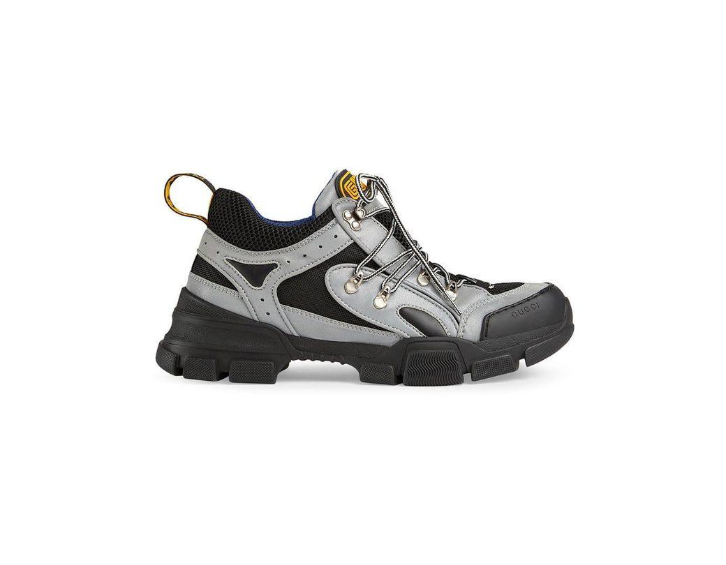 1b1b7576d6d Lyst - Gucci Flashtrek Sneaker in Metallic for Men