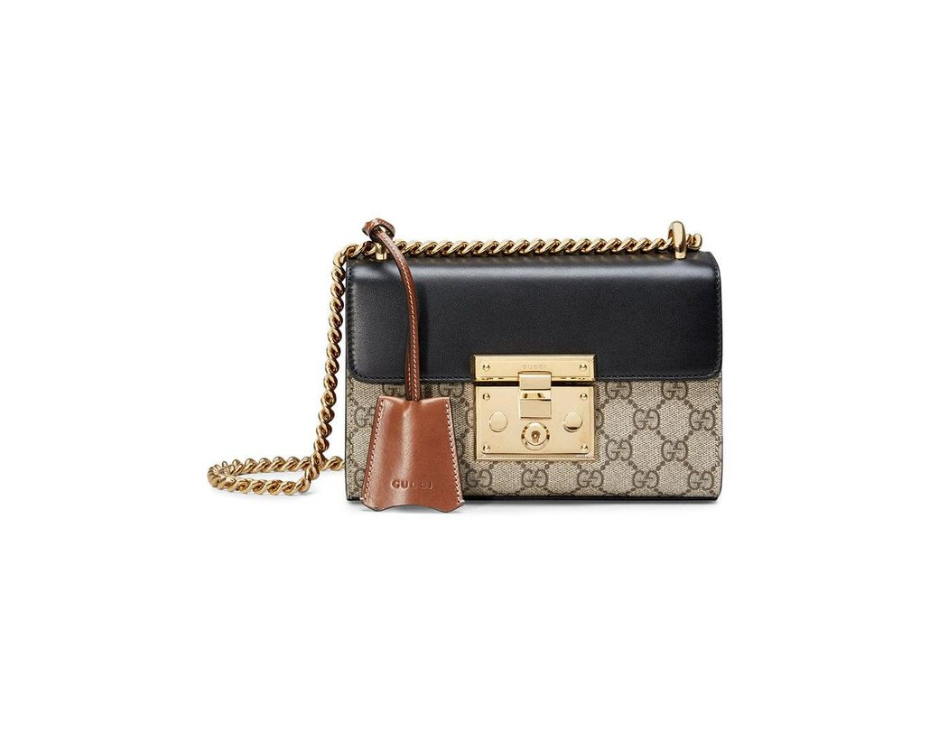 6355b56c2fa Gucci Padlock Small GG Shoulder Bag in Black - Save 24% - Lyst