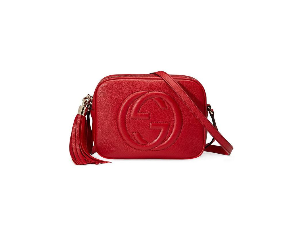 d12278e6b72 Gucci Soho Small Leather Disco Bag in Metallic - Save 33% - Lyst