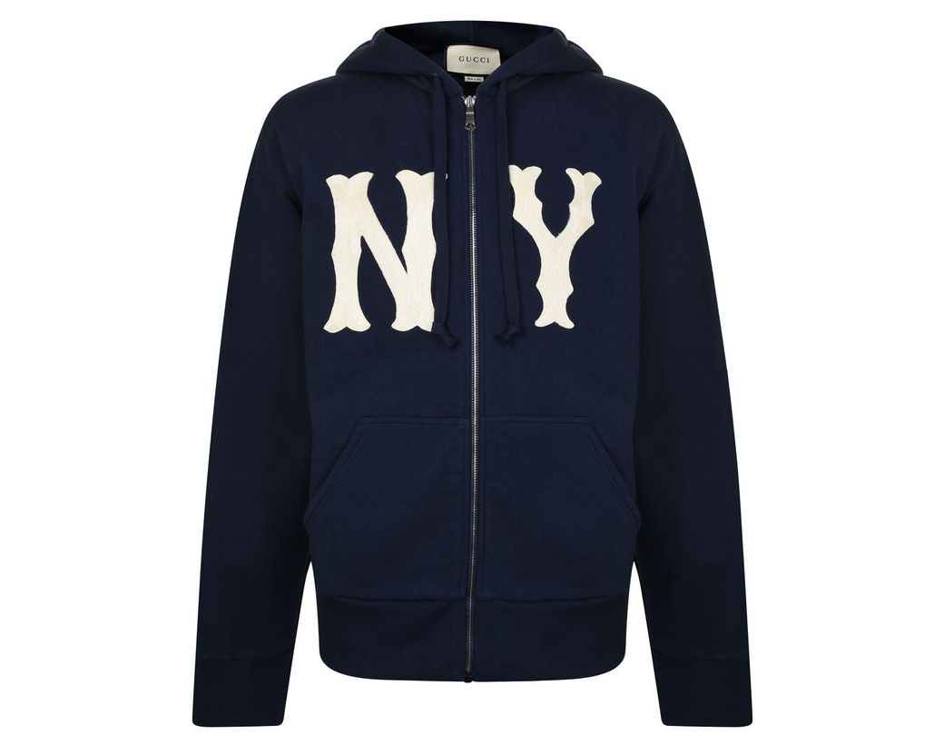 600ed27958d Gucci Men s Sweatshirt With Ny Yankeestm Patch in Blue for Men ...
